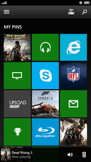 Xbox One SmartGlass 2.5 for iOS (iPhone screenshot 003)