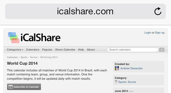 iCalShare