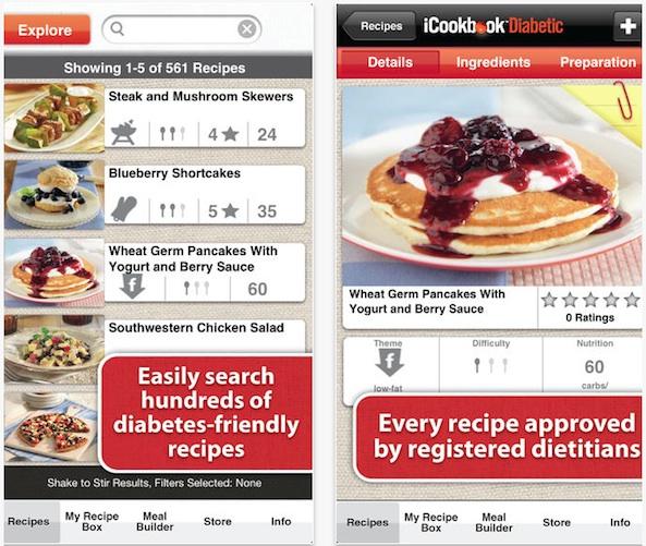 iCookbook Diabetic