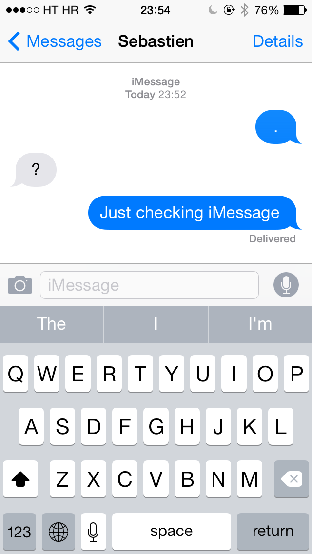 iOS 8 Beta 2 (Messages 001)