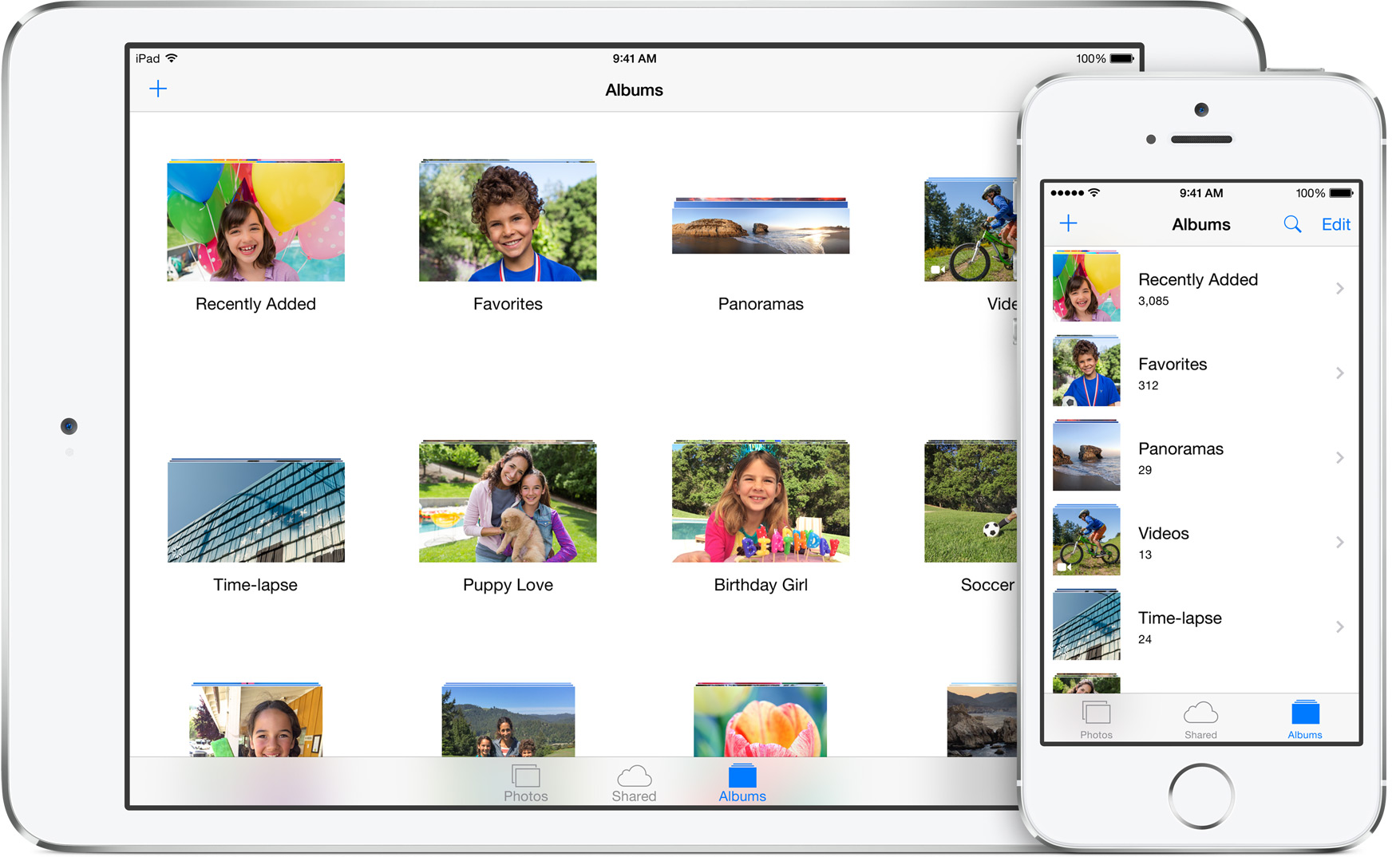 iOS 8 Photos App