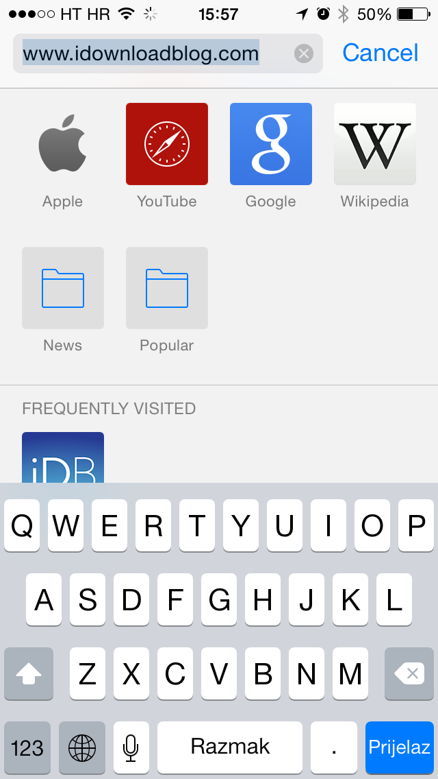 iOS 8 (Safari, iDownloadBlog homepage 003)