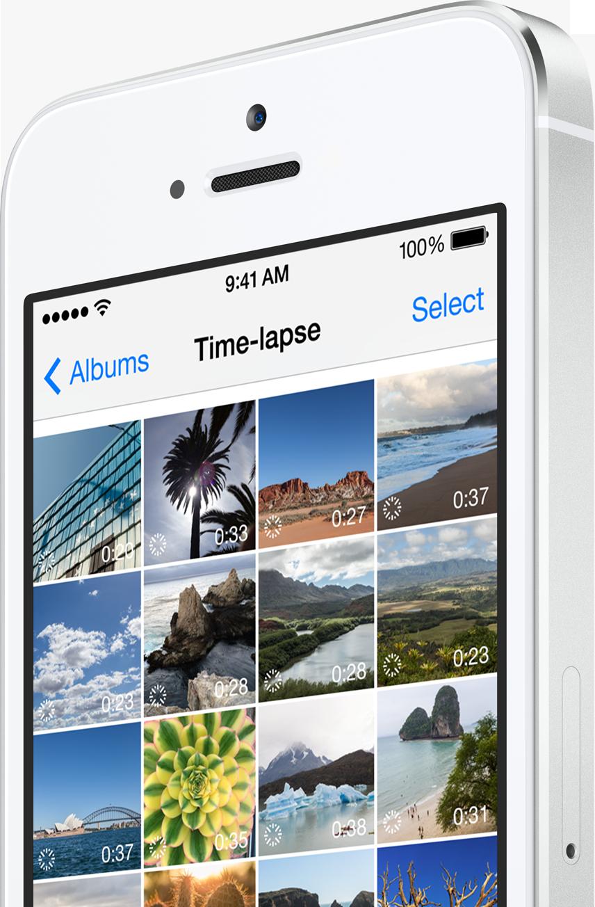 iOS 8 Time Lapse