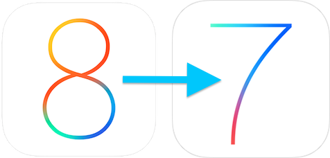 iOS 8 beta to iOS 7.1.1