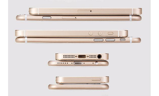 iPhone 6 vs iphone 5 (comparison 001)