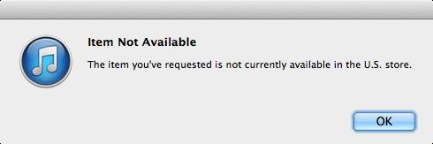 iTunes Down