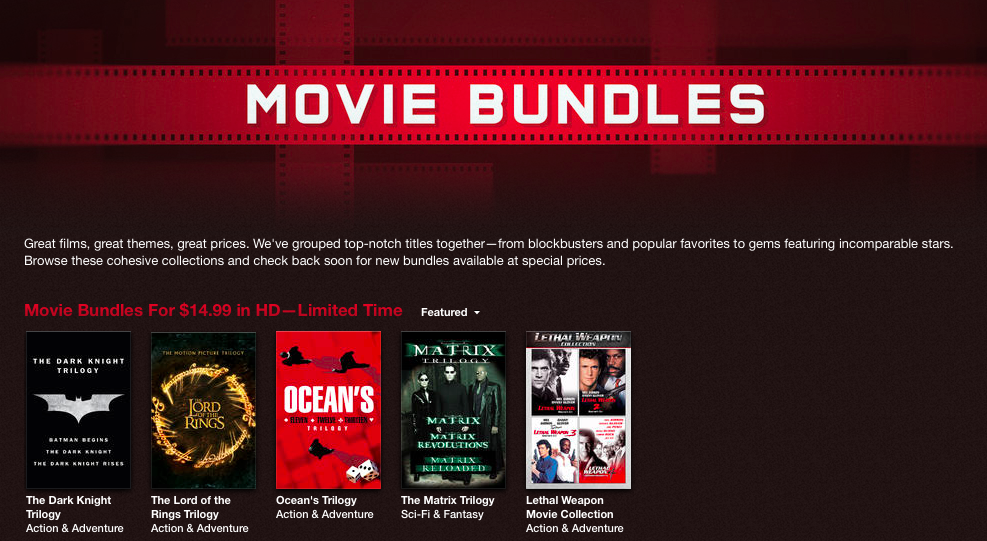 iTunes Movie Bundles (teaser 006)