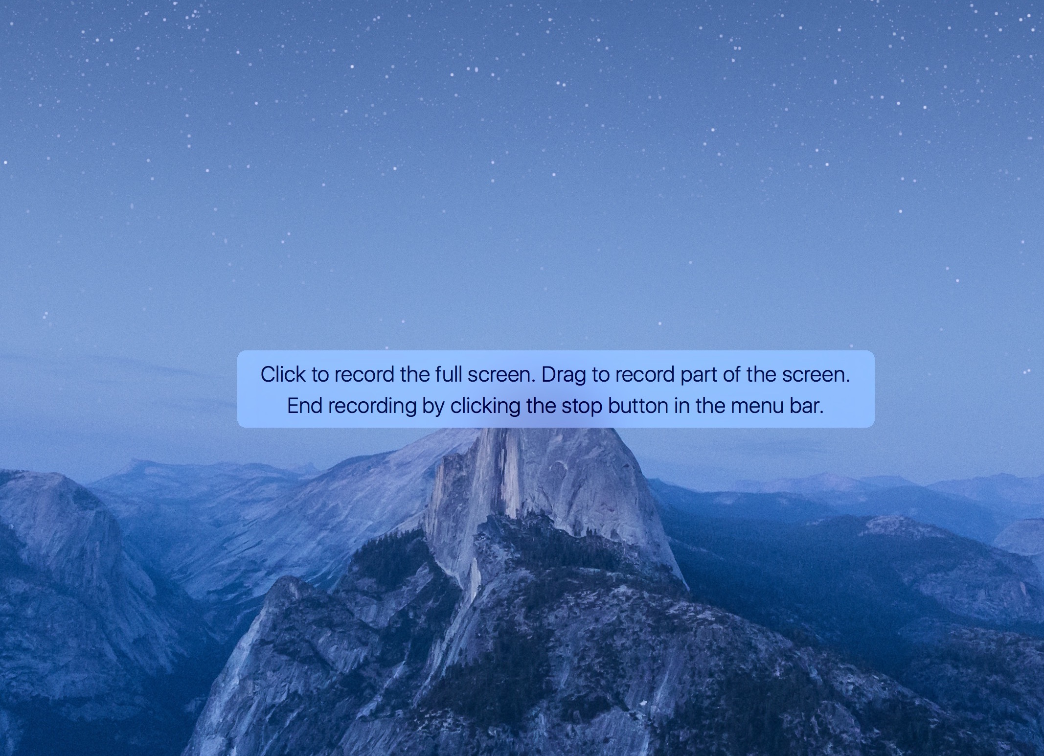screencast screen recording on mac