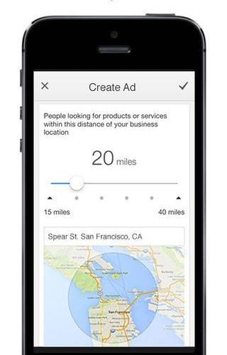 AdWords Express 1.0 for iOS (iPhone screenshot 001)
