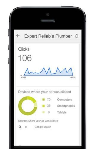 AdWords Express 1.0 for iOS (iPhone screenshot 004)