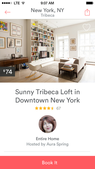 Airbnb 4.0 for iOS (iPhone screenshot 003)