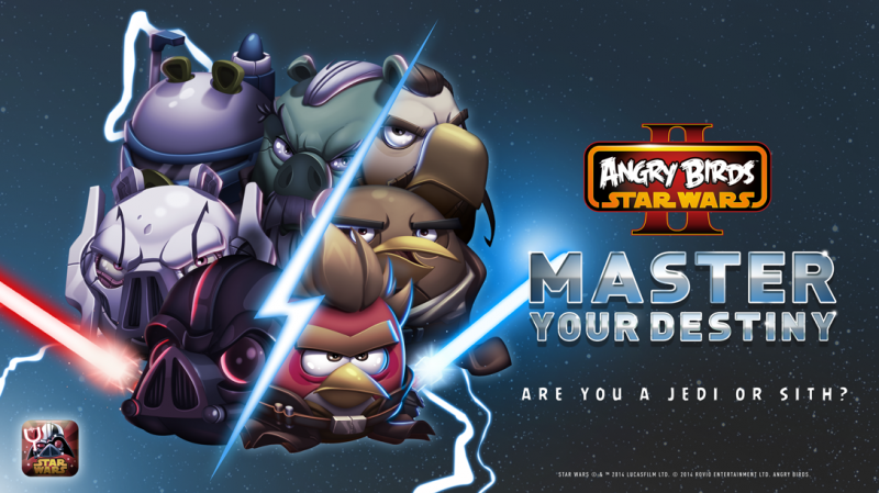 Angry Birds Star Wars 2 (Master Your Destiny update teaser 001)
