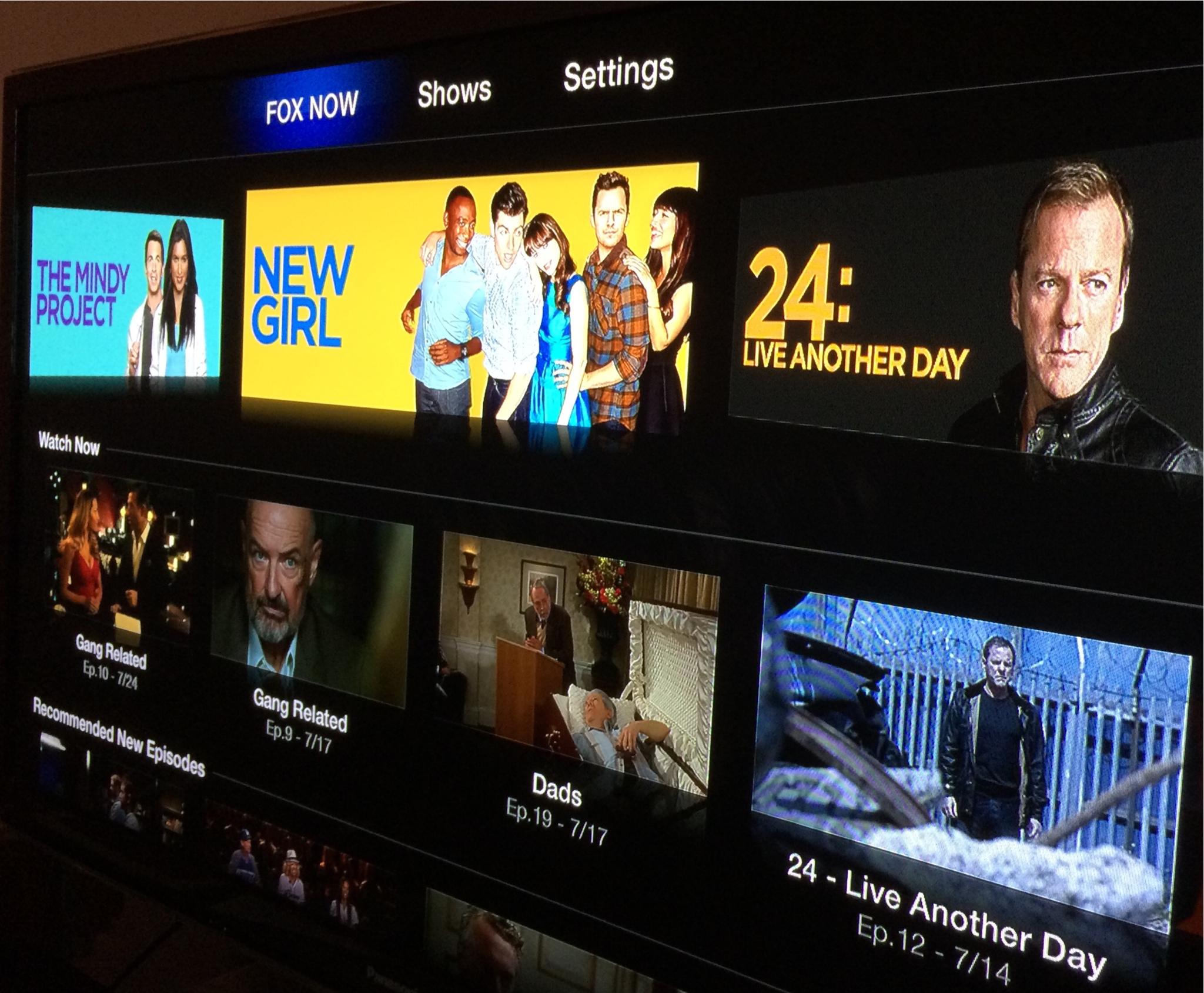 Apple TV (FOX NOW)