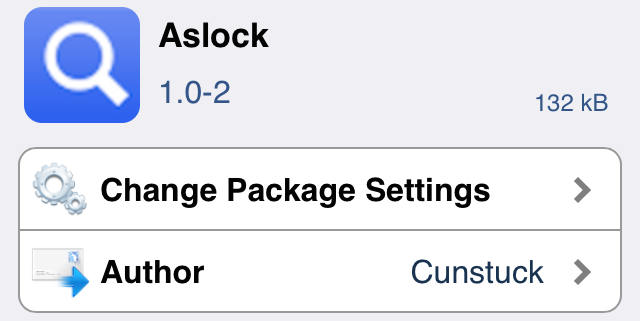 Aslock Cydia