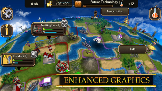 Civilization Revolution 2 (iPhone screenshot 001)