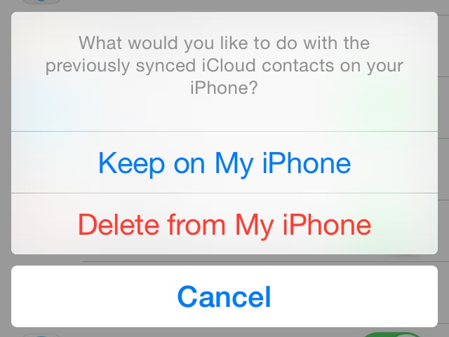 How to restore contacts from iCloud to your iPhone