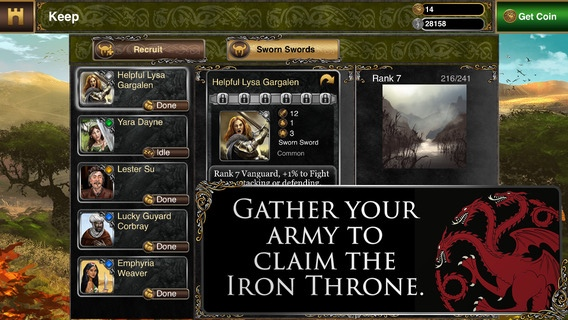 Game of Thrones Ascent 2.0 for iOS (iPhone screenshot 002)