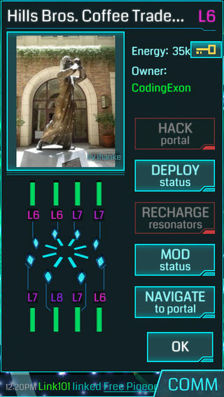 Ingress 1.0 for iOS (iPhone screenshot 003)