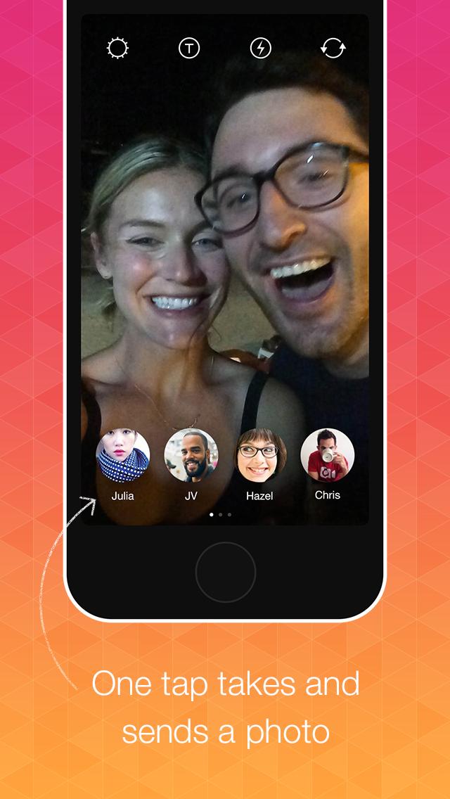 Instagram Bolt 1.0 para iOS (captura de pantalla iPhone 002)