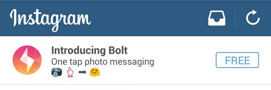 Instagram Bolt (banner 001)