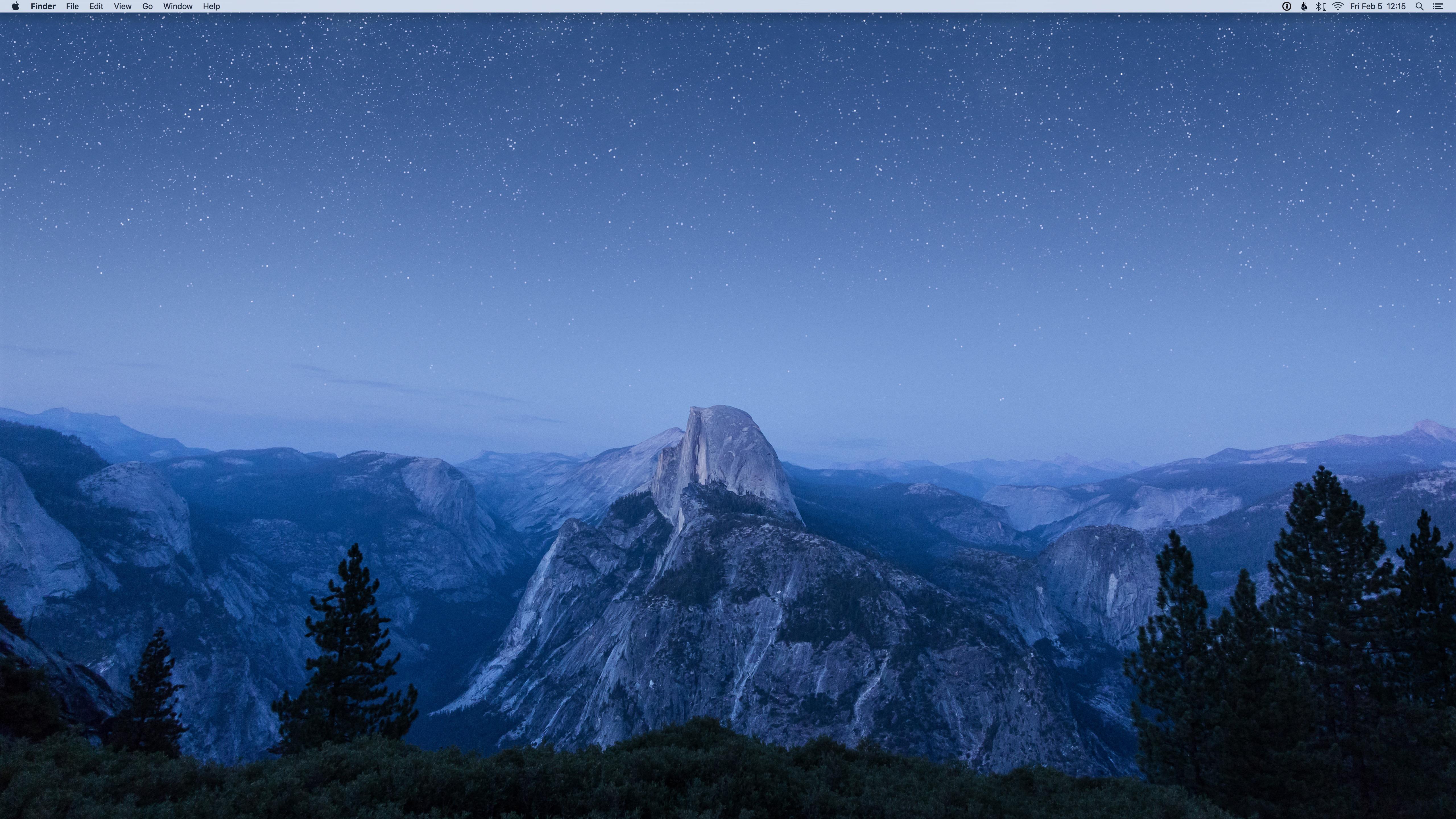 Mac desktop screenshot