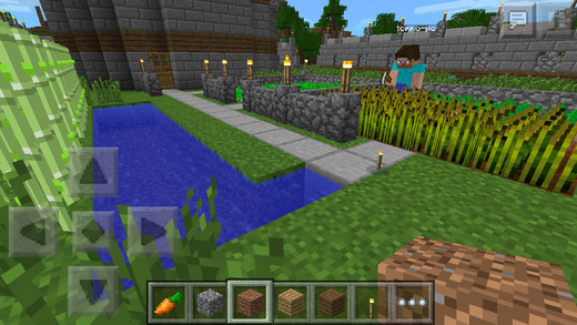 Minecraft - Pocket Edition 0.9.0 (iPhone screenshot 003)