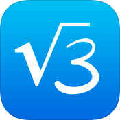 MyScript Calculator 1.2 for iOS (app icon, small)