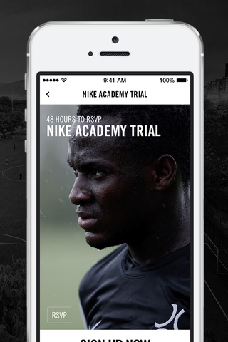 Nike Soccer 1.0 for iOS (iPhone screenshot 005)