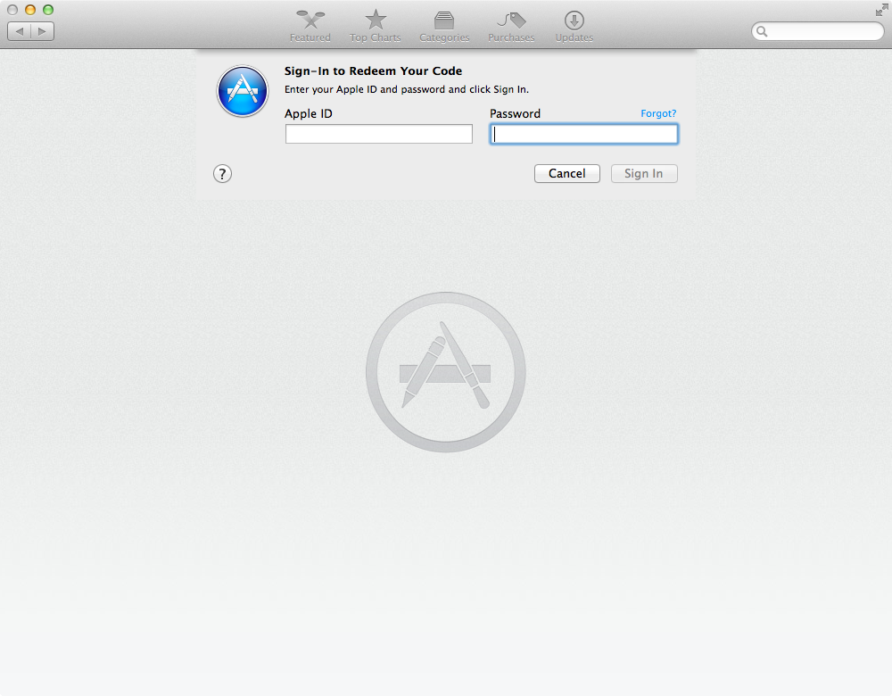 OS X Yosemite Public beta (step 6)