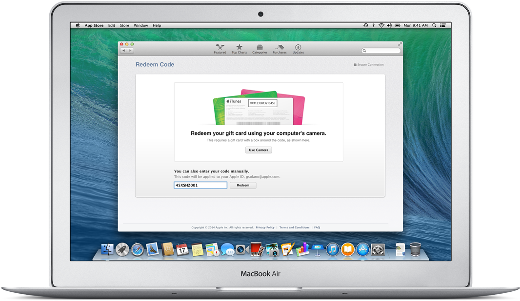 OS X Yosemite Public beta (step 9)