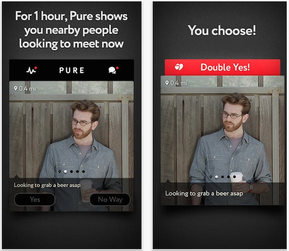 Pure dating app london