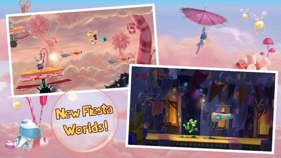 Rayman Fiesta Run 1.2.1 for iOS (iPHone screenshot 001)