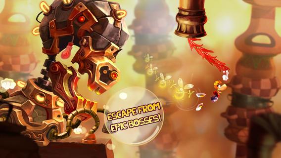 Rayman Fiesta Run 1.2.1 for iOS (iPHone screenshot 002)