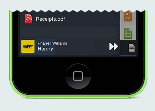 Readdle Documents 5.1 para iOS (música de fondo)