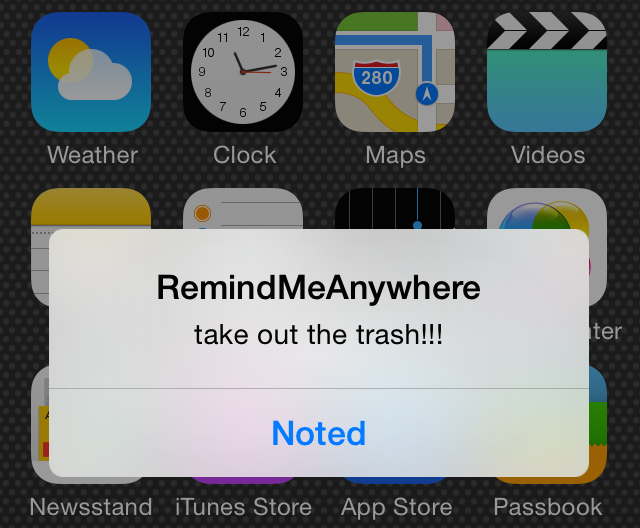 RemindMeAnywhere