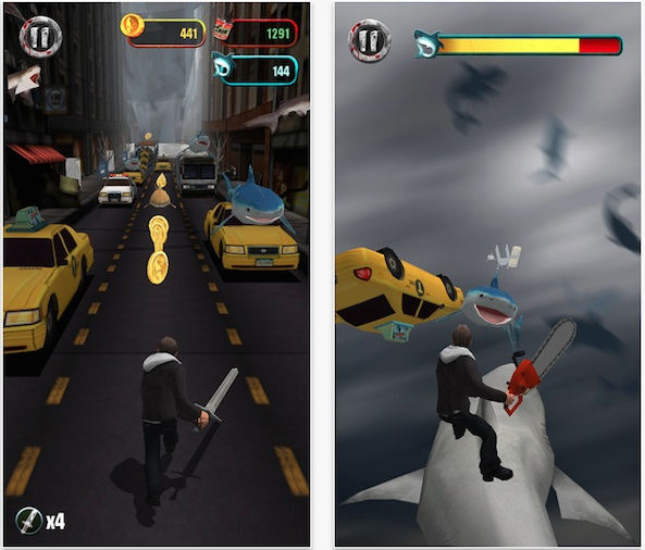Sharknado: The Video Game attacks the App Store