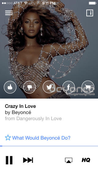 Songza 3.2.5 for iOS (iPhone screenshot 003)