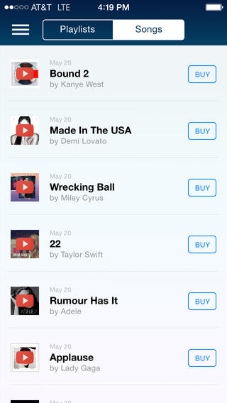 Songza 3.2.5 for iOS (iPhone screenshot 005)