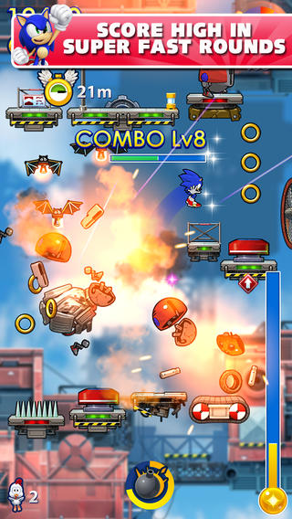 Sonic Jump Fever 1.0 for iOS (iPhone screenshot 001)