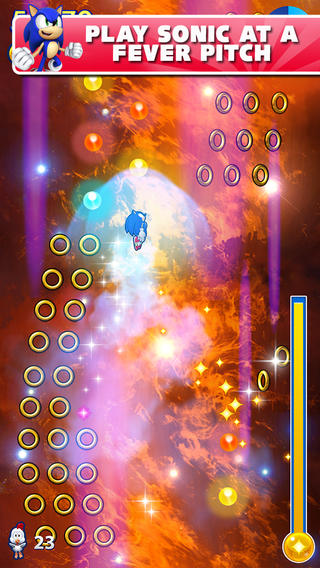 Sonic Jump Fever 1.0 for iOS (iPhone screenshot 002)