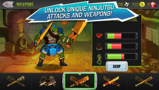 Teenage Mutant Ninja Turtles 1.0 for iOS (iPhone screenshot 002)