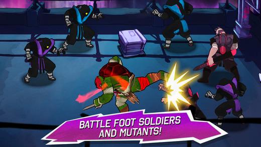 Teenage Mutant Ninja Turtles 1.0 for iOS (iPhone screenshot 003)