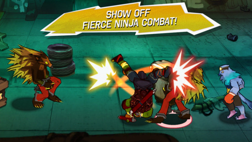 Teenage Mutant Ninja Turtles 1.0 for iOS (iPhone screenshot 004)