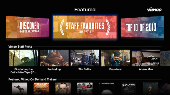 Vimeo (Apple TV 001)