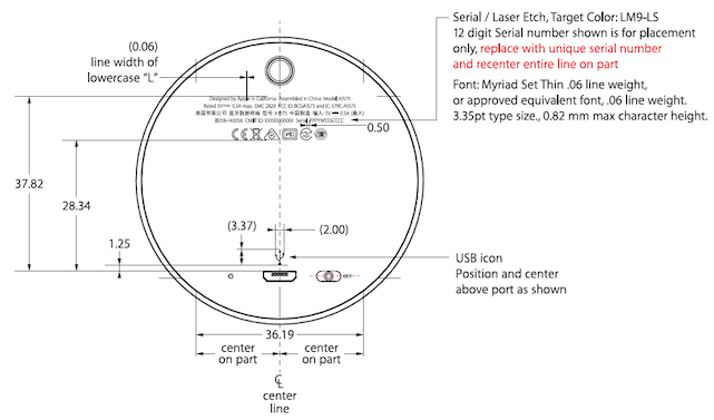apple ibeacon fcc