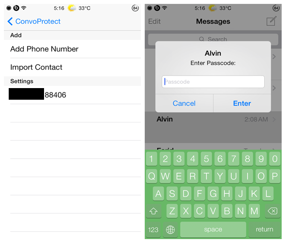 how to update my phone number on kik
