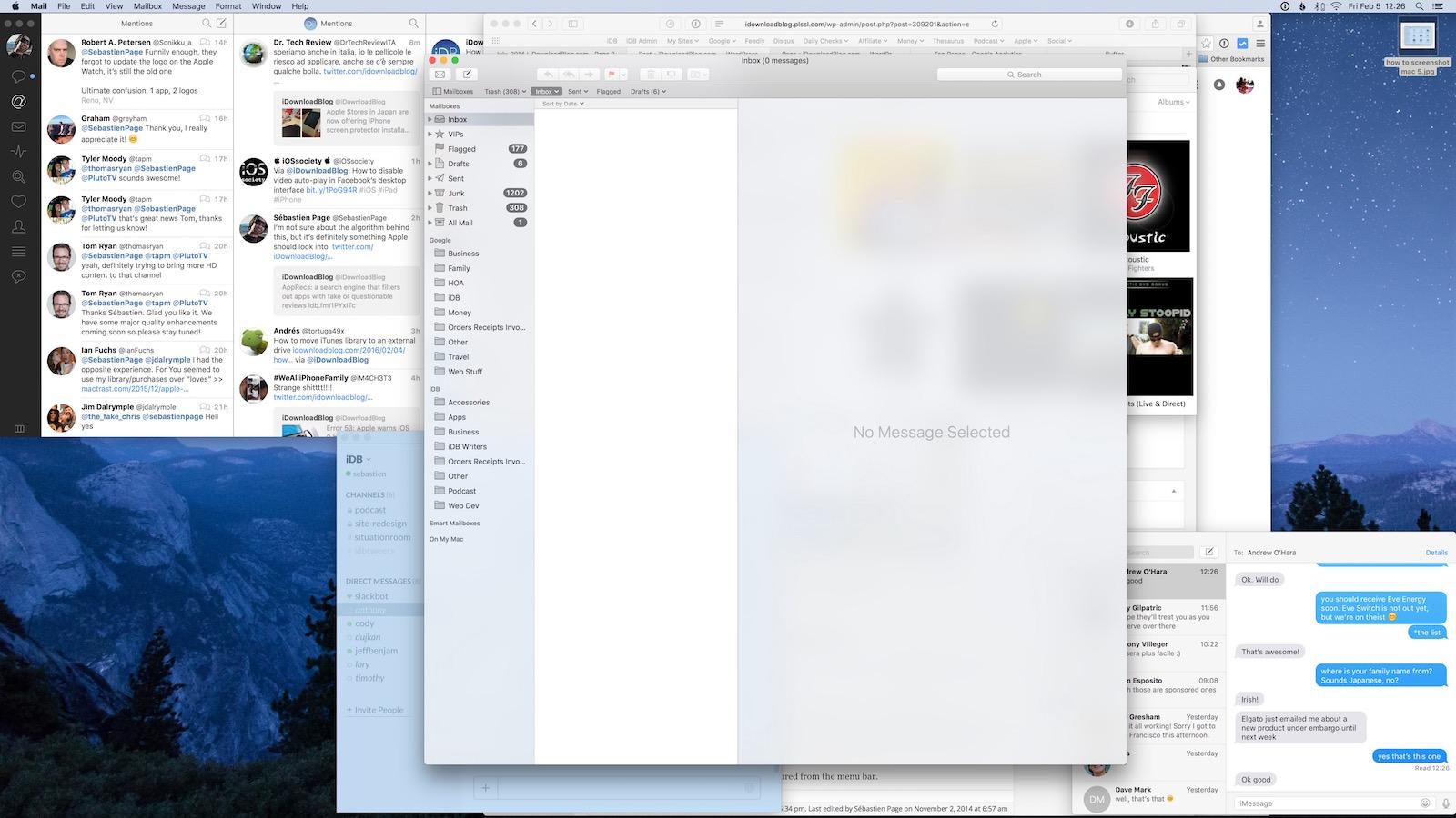 how to screenshot mac 6