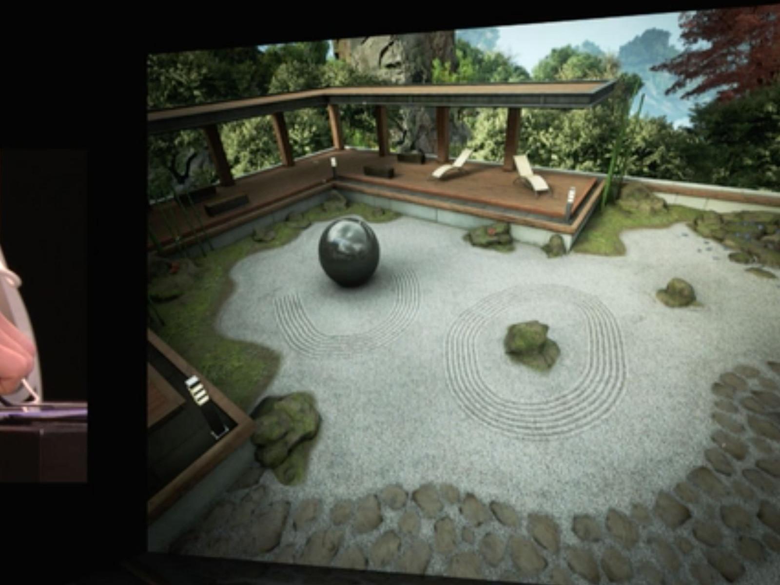 iOS 8 Metal (Zen Garden)