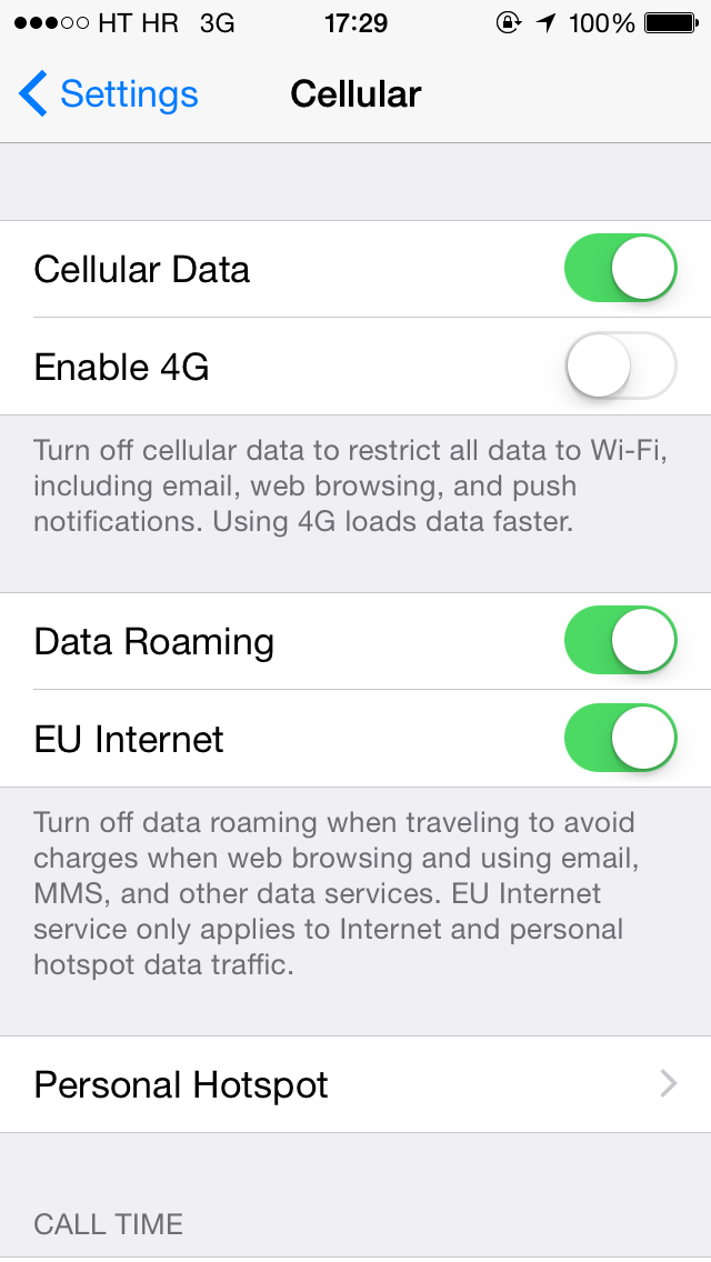 iOS 8 (Settings, Cellular, EU Internet 001)