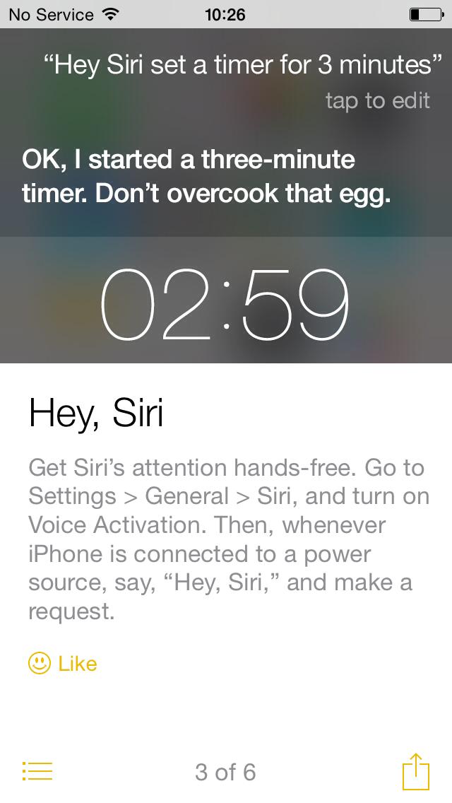 iOS 8 tip hey siri